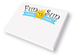 "P9000 - Self Promo: Post-it Note Pad - 4"" x 2-7/8"" x 25 sheets"